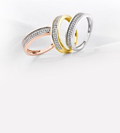 BAND ENGAGEMENT RINGS