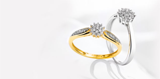 CLASSIC MANY DIAMONDS
