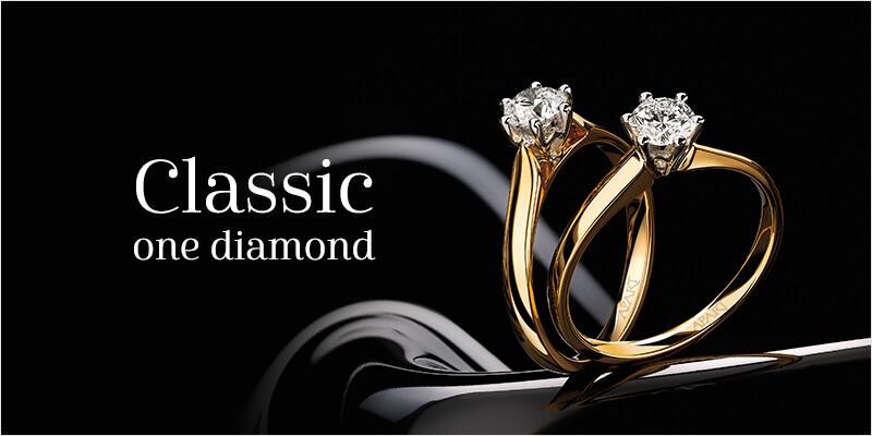 classic one diamond