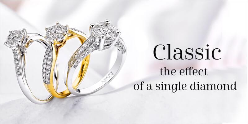 effect of single a diamond
