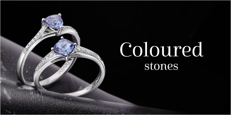 coulored stones