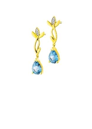 Jewellery with diamonds